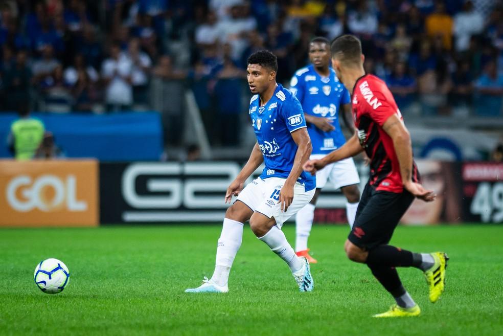 Ederso ganhou algumas oportunidades no Campeonato Brasileiro — Foto: Bruno Haddad/Cruzeiro