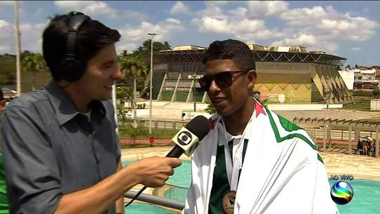 Suelyton celebra gols; Amadeu relembra conversa com treinador antes de chegar em Lagarto