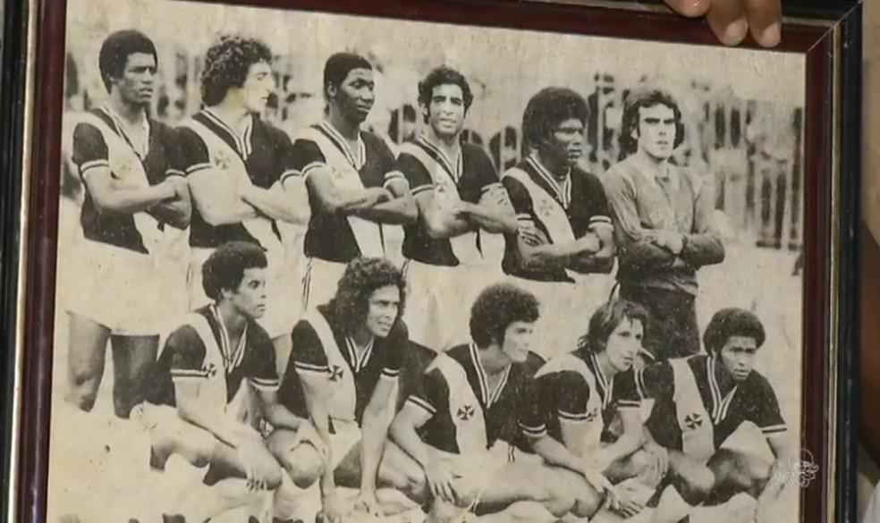 Argeu dos Santos campeão brasileiro pelo Vasco da Gama â?? Foto: Reprodução/TV Verdes Mares