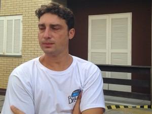 Adriano Benfica reanimou menino de 3 anos após queda de prédio (Foto: Roberta Salinet/RBS TV)