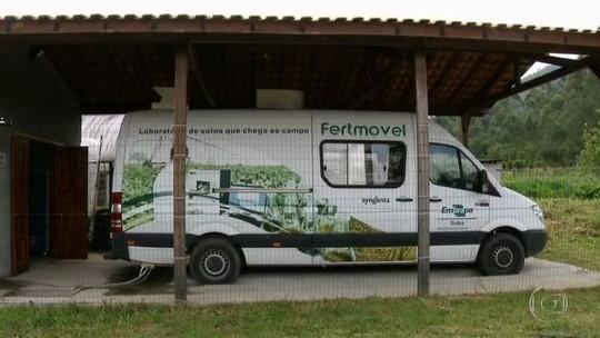 Projeto da Embrapa quer levar análise de solo até produtores rurais