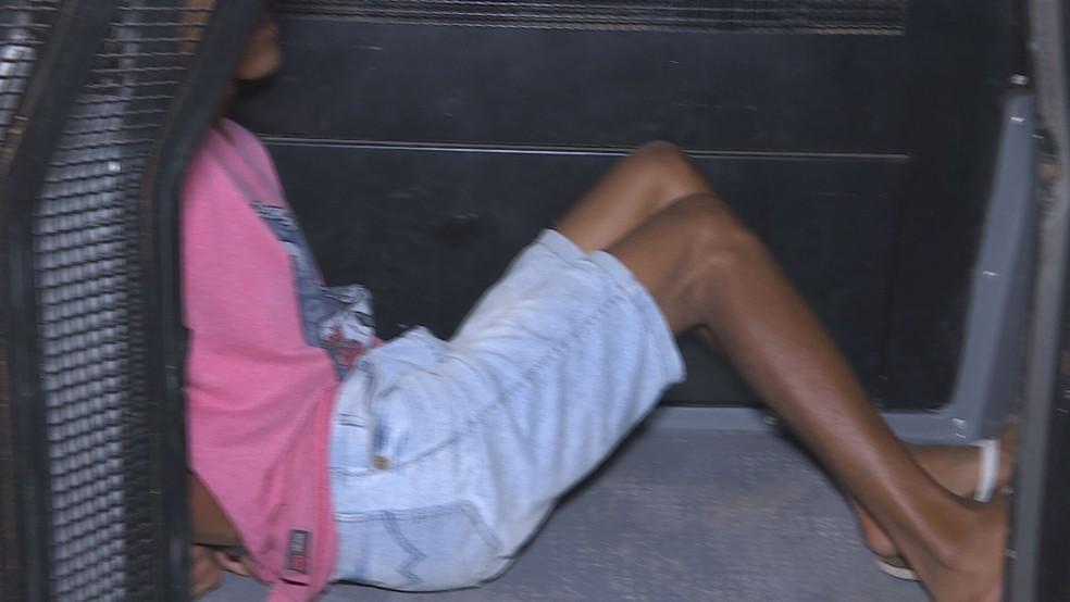 Suspeito cumpria pena por tráfico e lesão corporal, mas foi solto em razão da pandemia — Foto: Reprodução / TV Globo