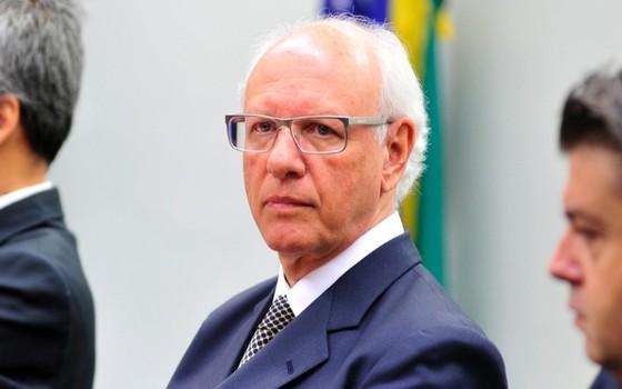 O ex-vice-presidente da Engevix Gerson Almada (Foto: Zeca Ribeiro/Agência Câmara)