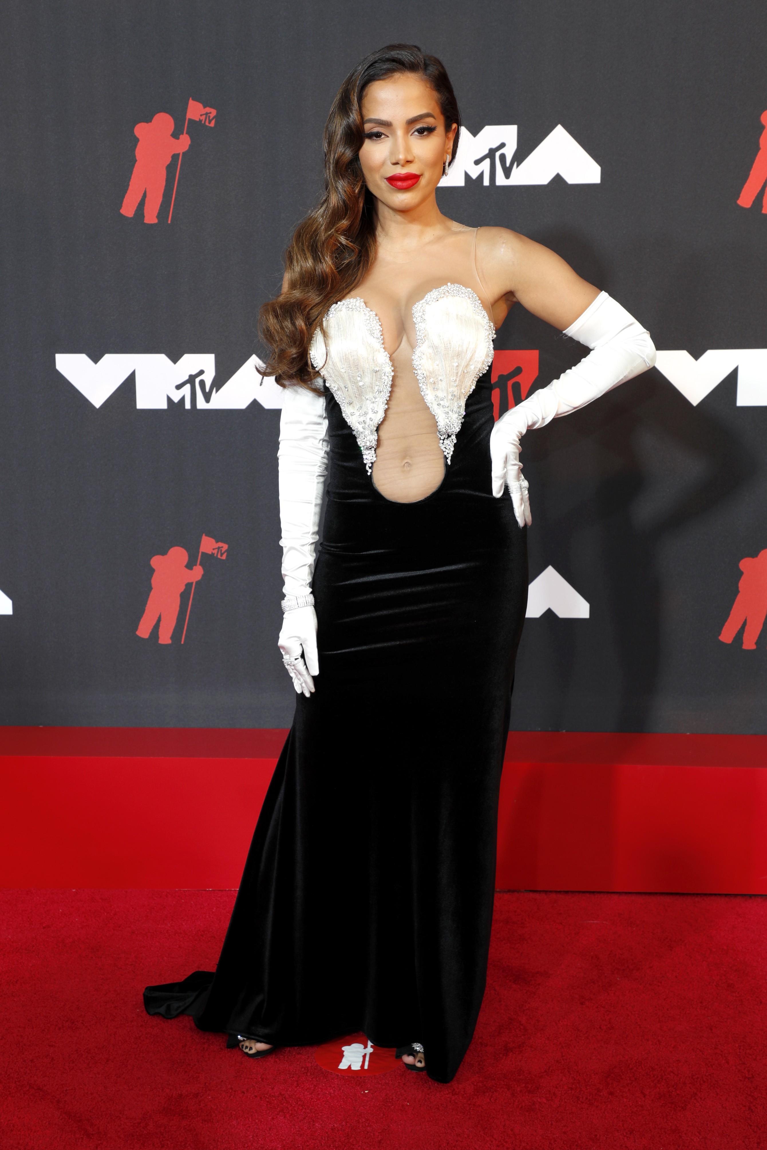 Anitta no VMA 2021 (Foto: Getty Images)