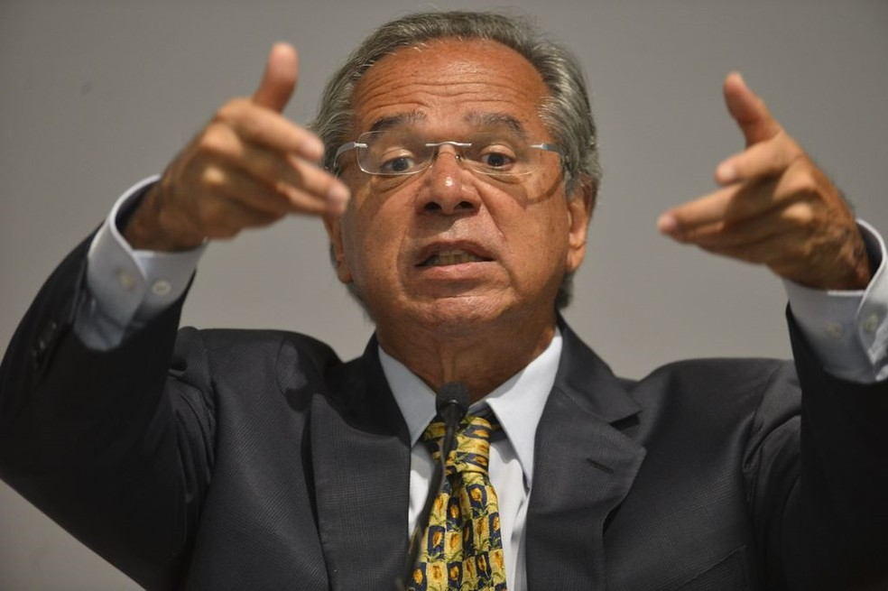 O ministro da Economia, Paulo Guedes — Foto: Valter Campanato/Agência Brasil