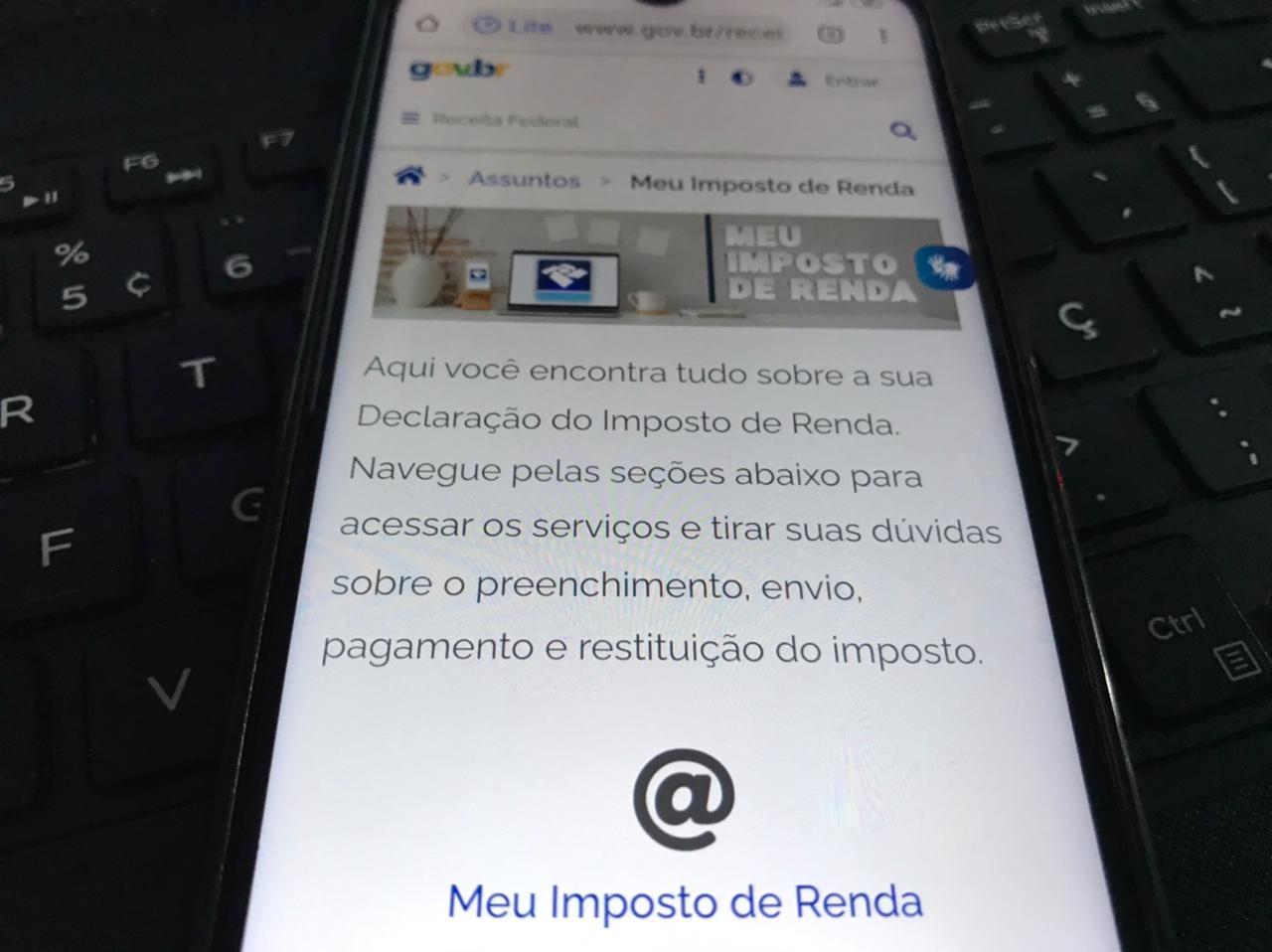 Receita Federal registra mais de 200 mil declarações do Imposto de Renda recebidas no RN