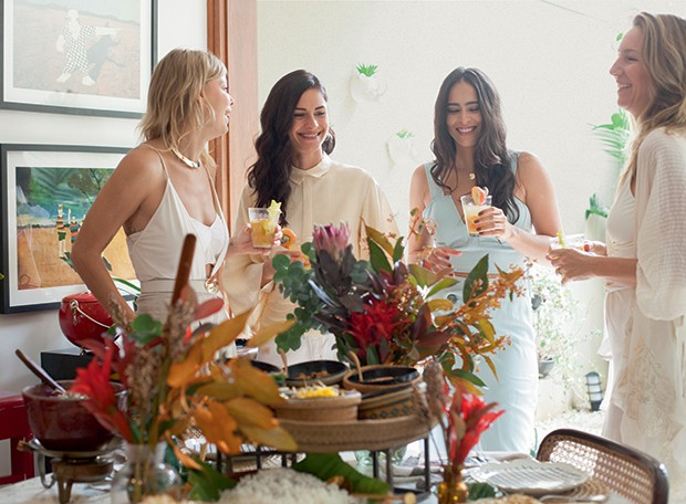 Lifestyle natal entre amigas - Guta, Roberta, Manuela e Aline (Foto: Mayra Azzi)