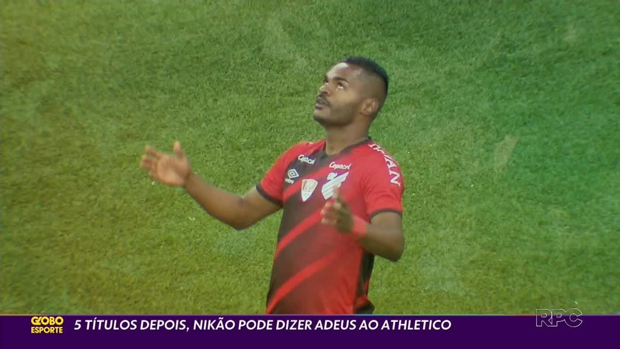 Nikão em momento decisivo de sua passagem no Athletico