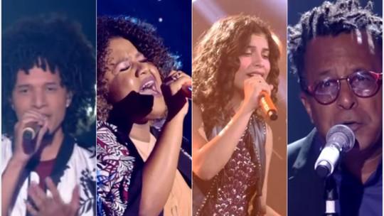Com escolhas ousadas, finalistas do 'The Voice' bombam na web