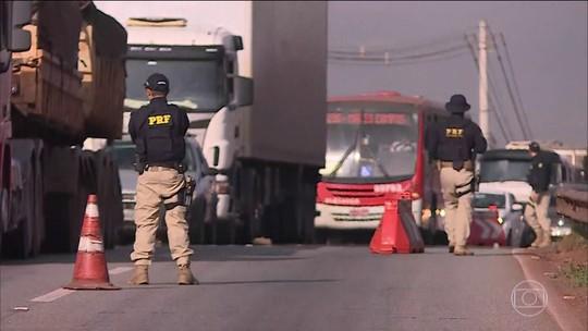 150 toneladas de drogas foram apreendidas nas rodovias federais do Brasil neste semestre
