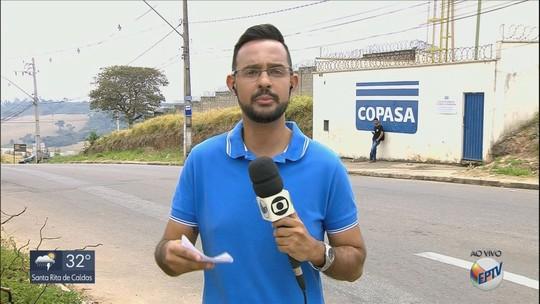 Baixo nível do Ribeirão Santana provoca desabastecimento de água em bairros de Varginha