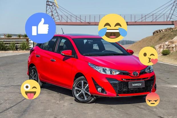 O que nossos leitores acharam do novo Toyota Yaris (Foto: Autoesporte)