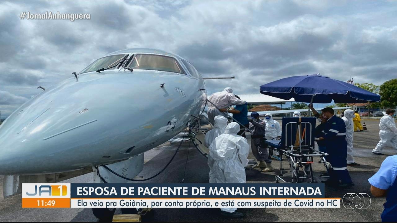Com suspeita de Covid-19, mulher viaja de Manaus a Goiânia em busca de tratamento