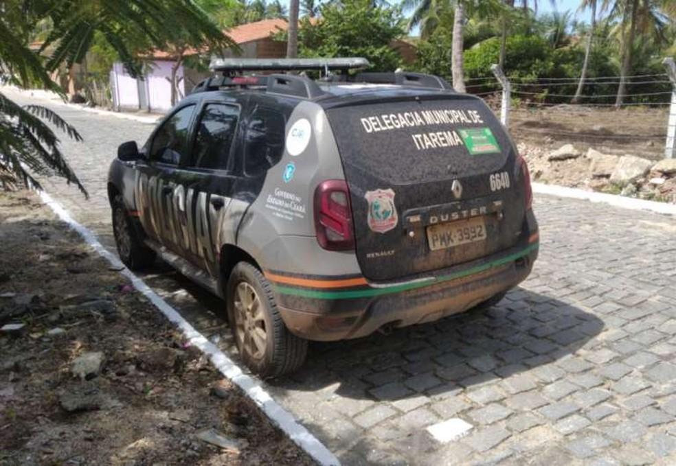 Prisão ocorreu durante uma ação de combate ao tráfico de drogas em Itarema, no Ceará — Foto: SSPDS