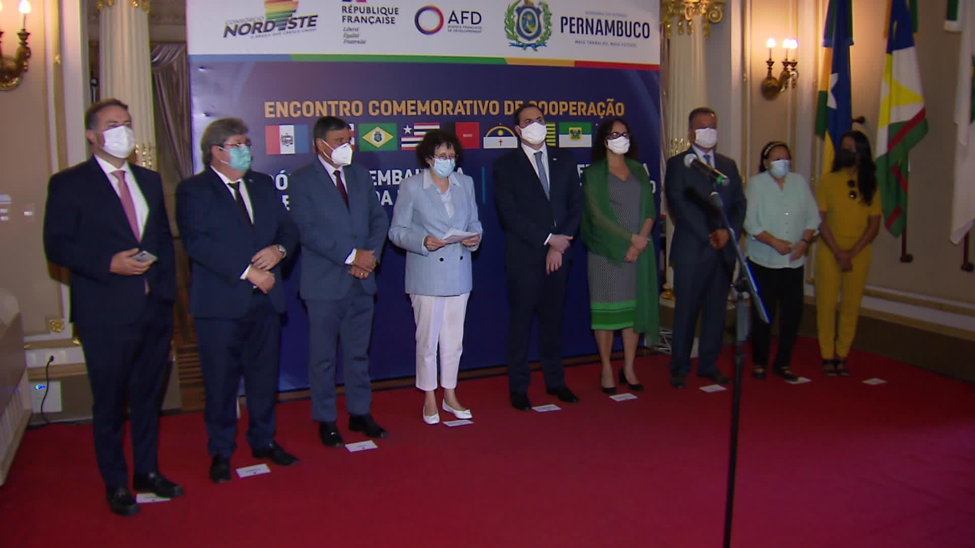 Consórcio Nordeste e governo da França assinam acordo para projetos de meio ambiente e geração de emprego