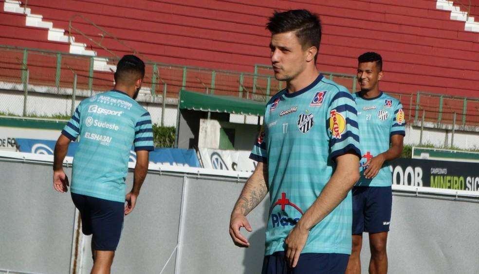 Renato Kayser tem proposta de empréstimo do Atlético-GO (Foto: Bruno Ribeiro )