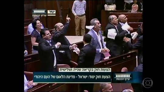 Israel aprova lei que define país como 'Estado-nação' dos judeus