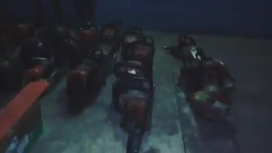Após ataques, polícia no AM apreende 36 motosserras que teriam sido furtadas do Ibama
