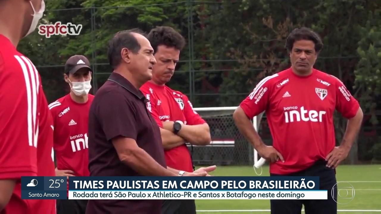 Campeonato Brasileiro: São Paulo joga desfalcado contra o Athletico Paranaense
