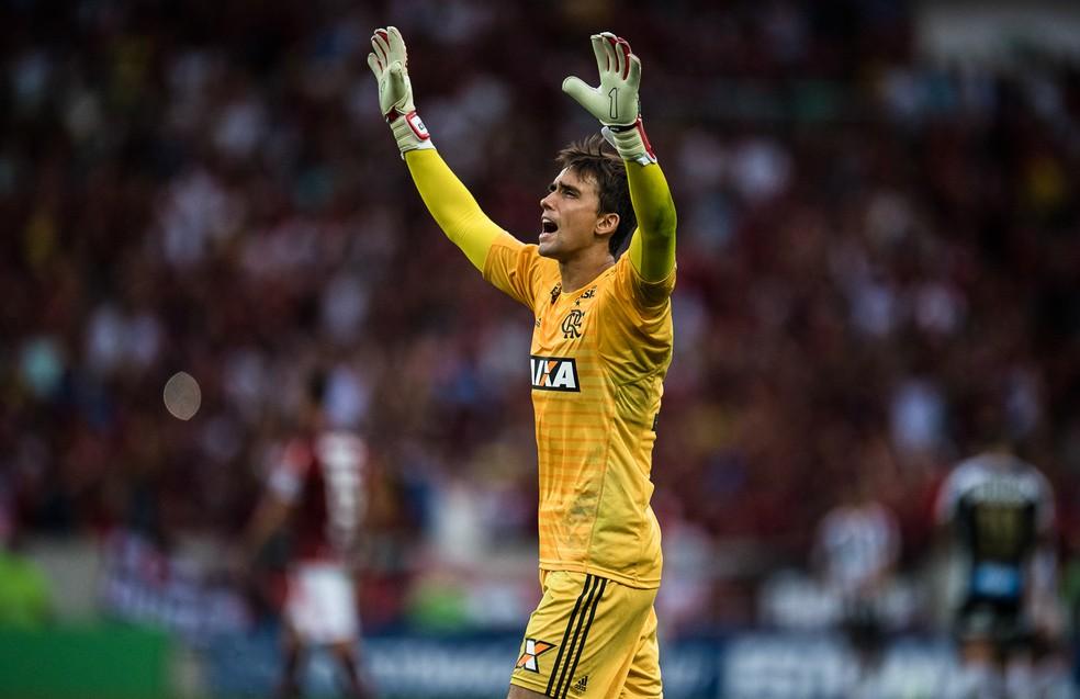 César terminou 2018 em alta pelo Flamengo — Foto: Jorge R Jorge/BP Filmes