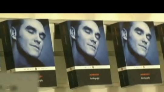 Autobiografia de Morrissey desbanca Bridget Jones dos mais vendidos