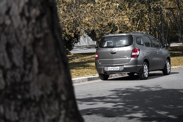 Chevrolet Spin x Nissan Grand Livina (Foto: Fabio Aro)