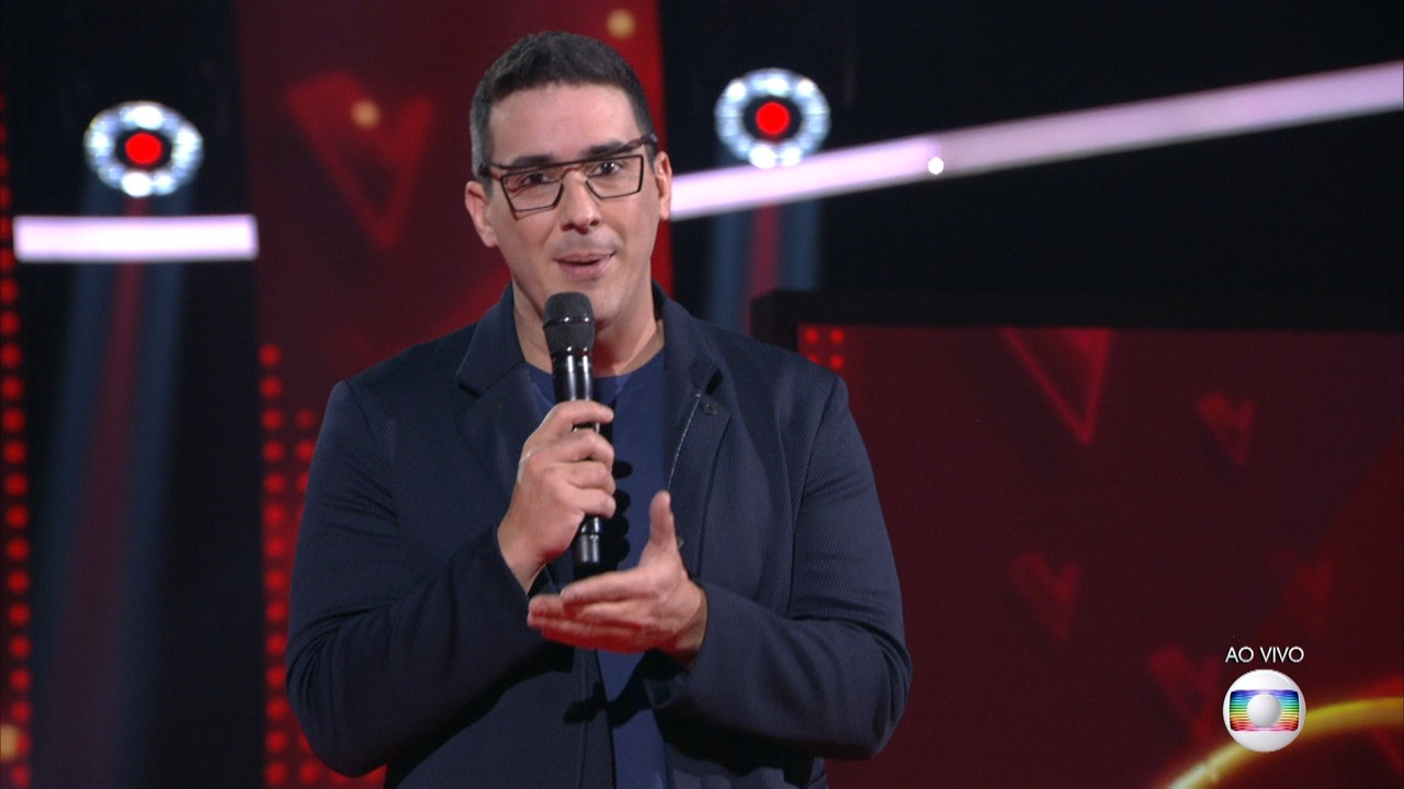 André Marques explica as regras do 'The Voice Kids'