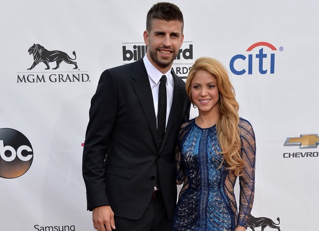 Gerard Piqué e Shakira (Foto: Getty Images)
