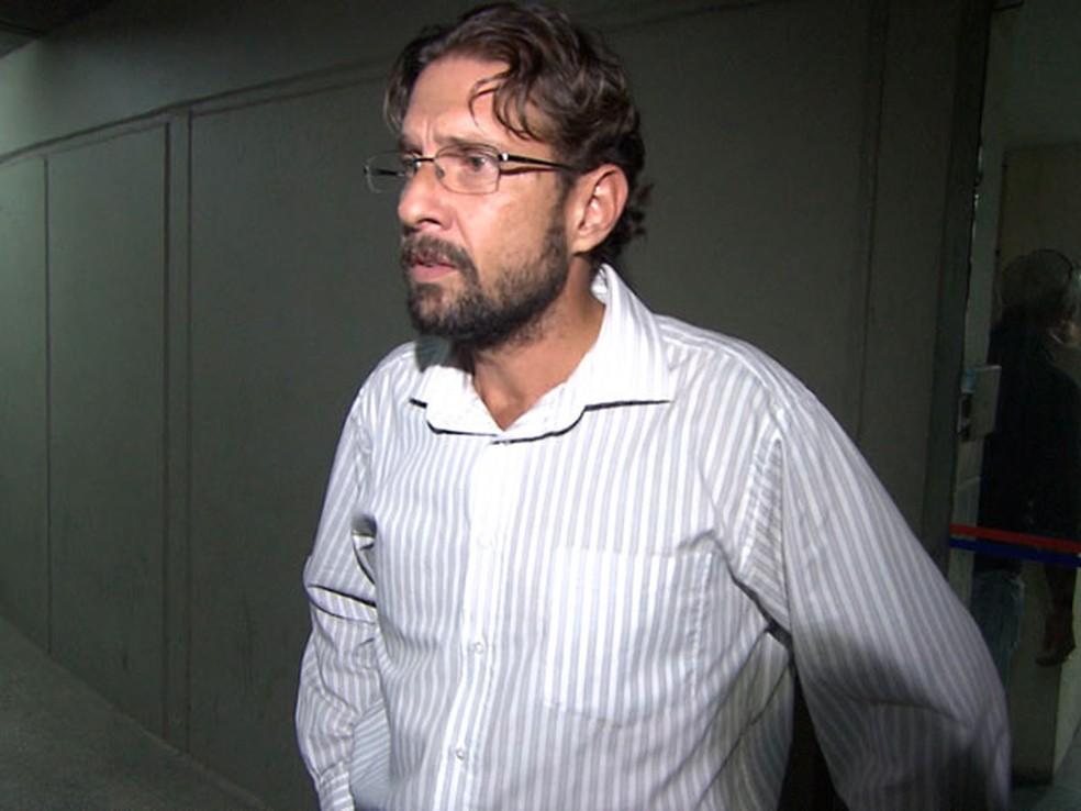 Advogado e professor universitário Roberto João Starteri Sampaio Filho, principal suspeito de provocar o acidente de trânsito que matou publicitário em Salvador (Foto: Henrique Mendes/G1 BA)