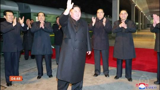 Kim Jong-un está a caminho da Rússia para encontro com Putin