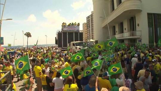 Cidades têm protestos contra lei de abuso de autoridade e a favor da Lava Jato em 19 estados e no DF