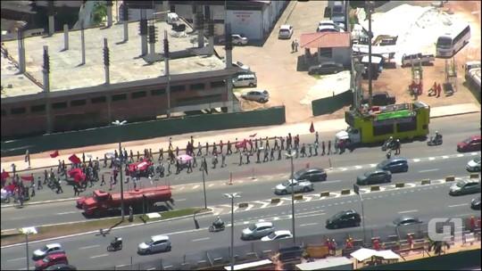 Em defesa de Lula, movimentos sociais fazem caminhadas na BA