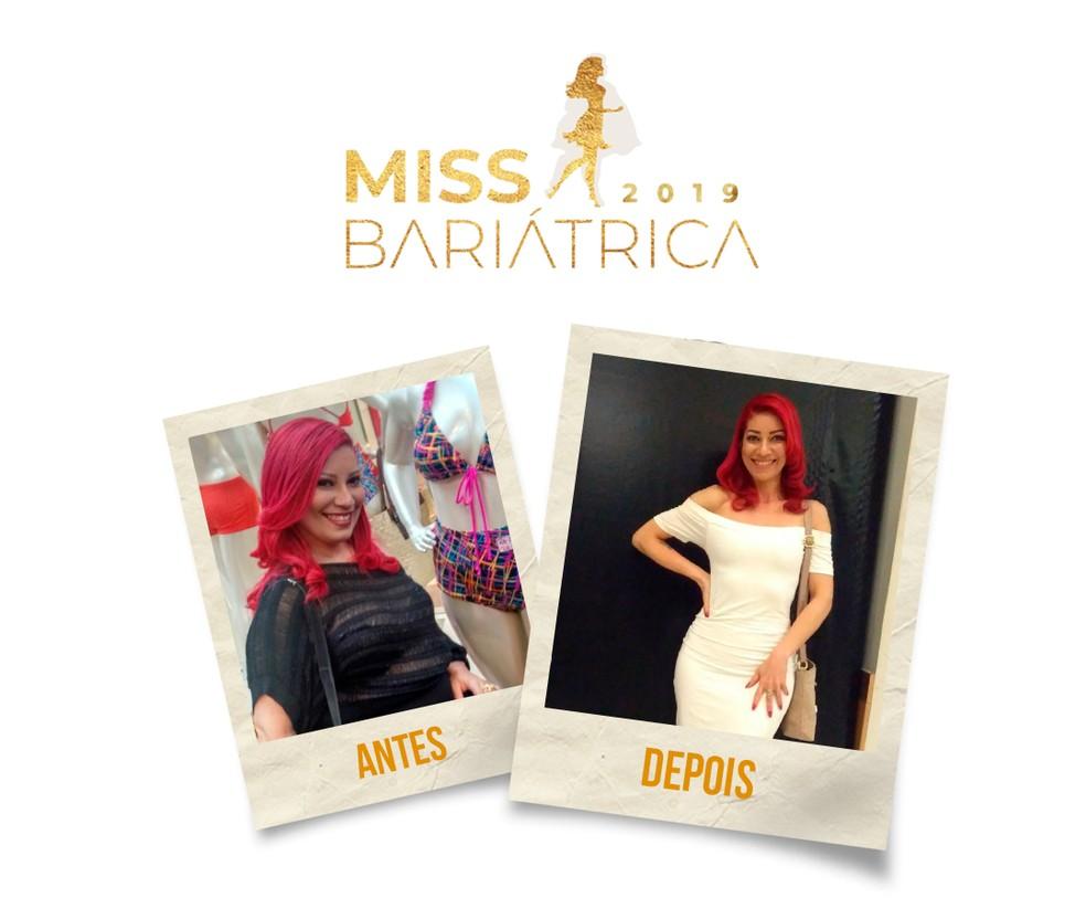 Lívia Chaves, 41 anos, finalista do Miss Bariátrica — Foto: Divulgação