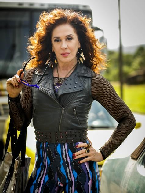 Claudia Raia como Lidiane em 'Verão 90' (Foto: João Miguel Júnior/ TV Globo)