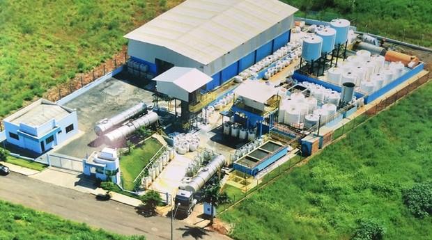 Com a purificação do ácido sulfúrico, a Antares também consegue vendê-lo para outras indústrias (Foto: Divulgação)