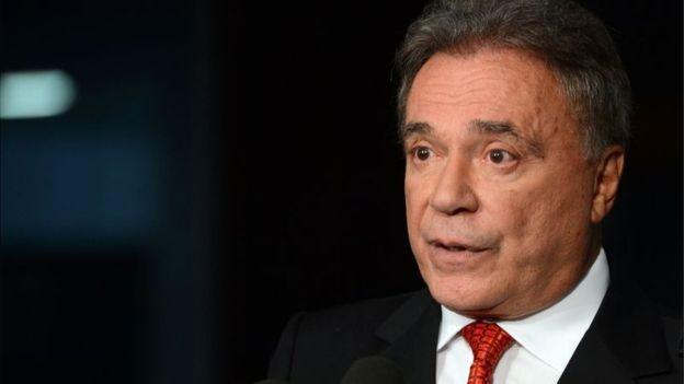 Senador Álvaro Dias ainda tenta se tornar mais conhecido entre o eleitorado (Foto: ANTONIO CRUZ/AGÊNCIA BRASIL via BBC)