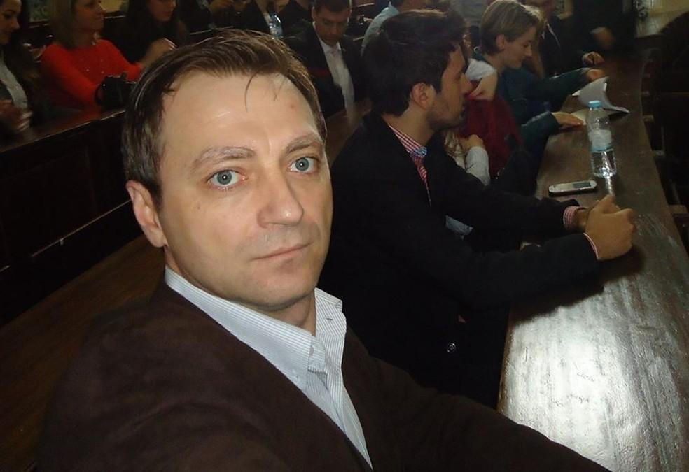 Evandro Carlos Diehl, prefeito de Nicolau Vergueiro, foi encontrado morto na prefeitura (Foto: Arquivo Pessoal)