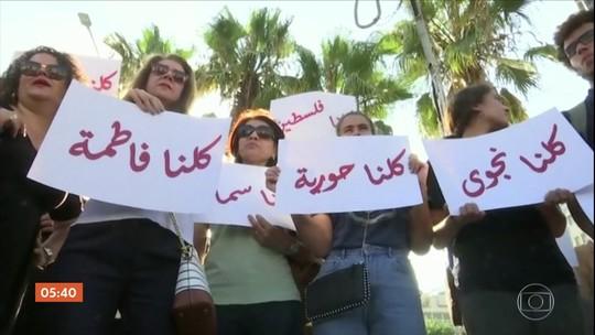Palestinos pedem proteção legal para mulheres após morte de jovem