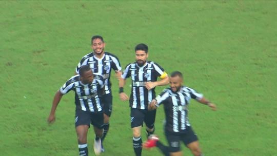 Os gols de Ceará 2 x 1 Grêmio pela 5ª rodada do Campeonato Brasileiro