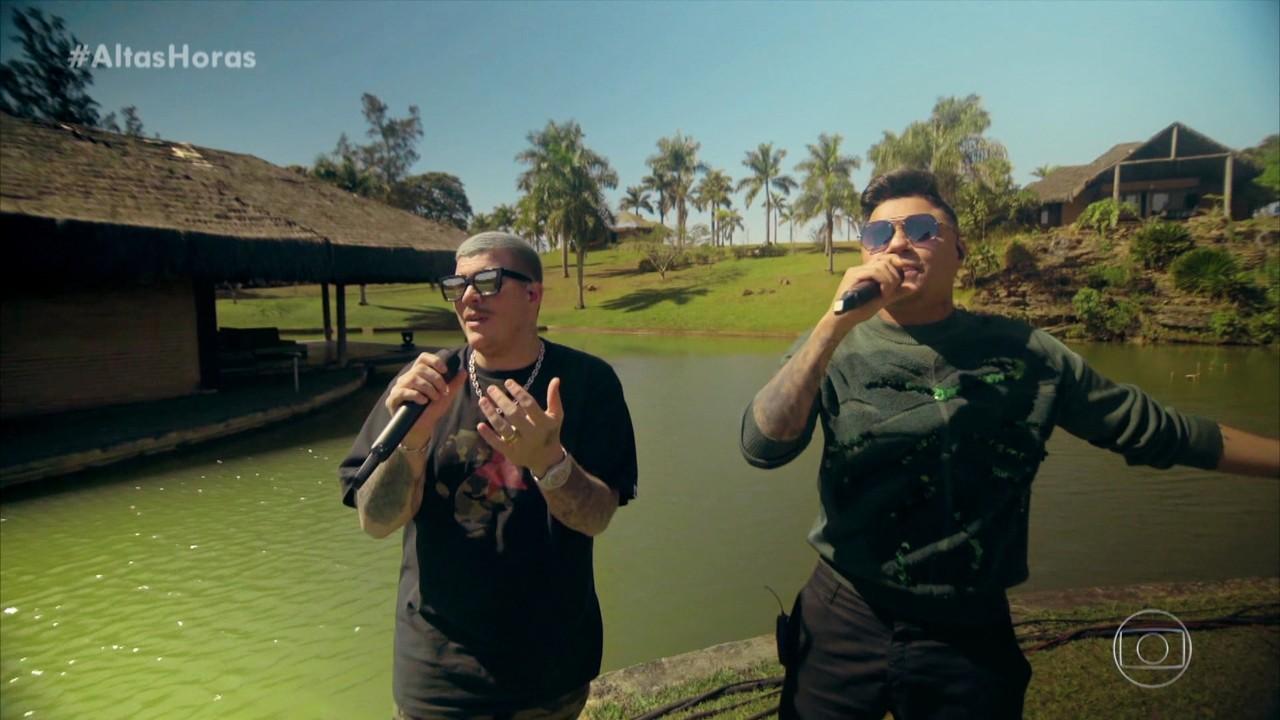 Felipe Araújo e Ferrugem cantam 'Atrasadinha'