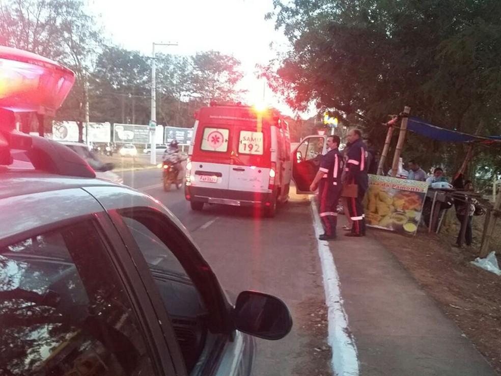 Vendedor de pamonha foi assassinado a tiros em Rondonópolis (MT) (Foto: Divulgação)
