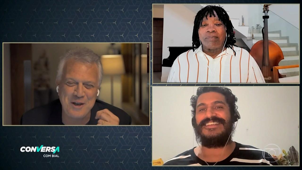 Milton Nascimento e Criolo falam sobre a parceria e não poupam elogios um ao outro