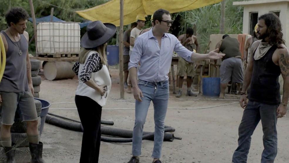 Gael diz que vai participar das buscas junto com Mariano (Foto: TV Globo)