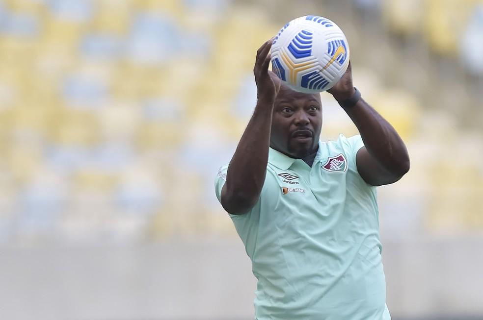 Marcão, técnico do Fluminense — Foto: André Durão