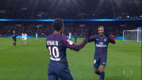 Em tratamento, Neymar fica fora de treino do PSG antes de duelo contra o vice Lyon