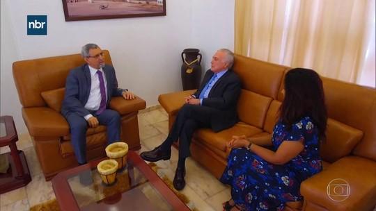 Em Cabo Verde, Temer cita brasileiros presos por tráfico no país africano