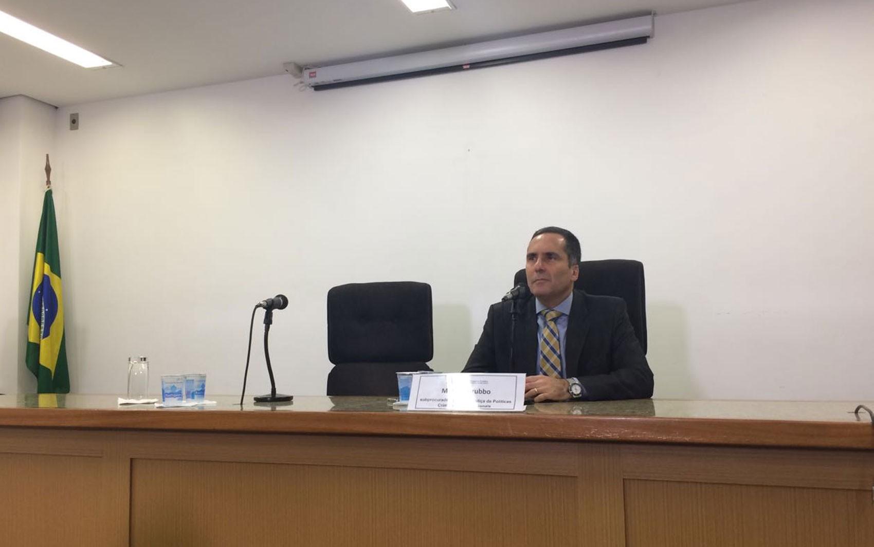 Doria escolhe Mário Sarrubbo como novo procurador-geral de Justiça do estado de SP
