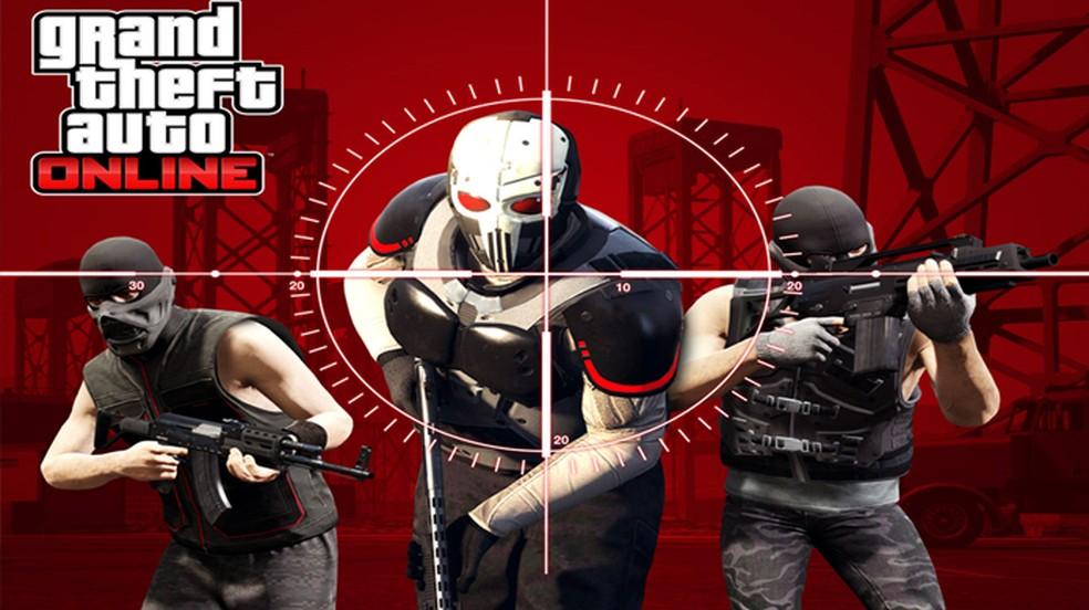 ea4f56470 ... GTA 5 recebe novo modo adversário Duro de Viver em seu multiplayer GTA  Online — Foto