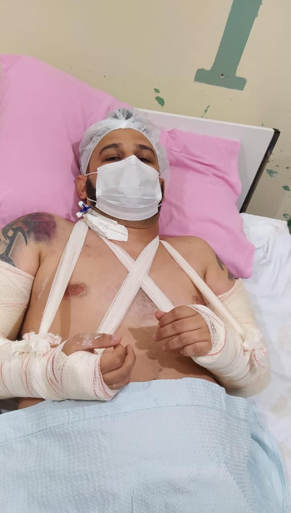 Jornalista é encontrado com braço quebrado e pernas lesionadas após  sequestro em Boa Vista | Roraima | G1
