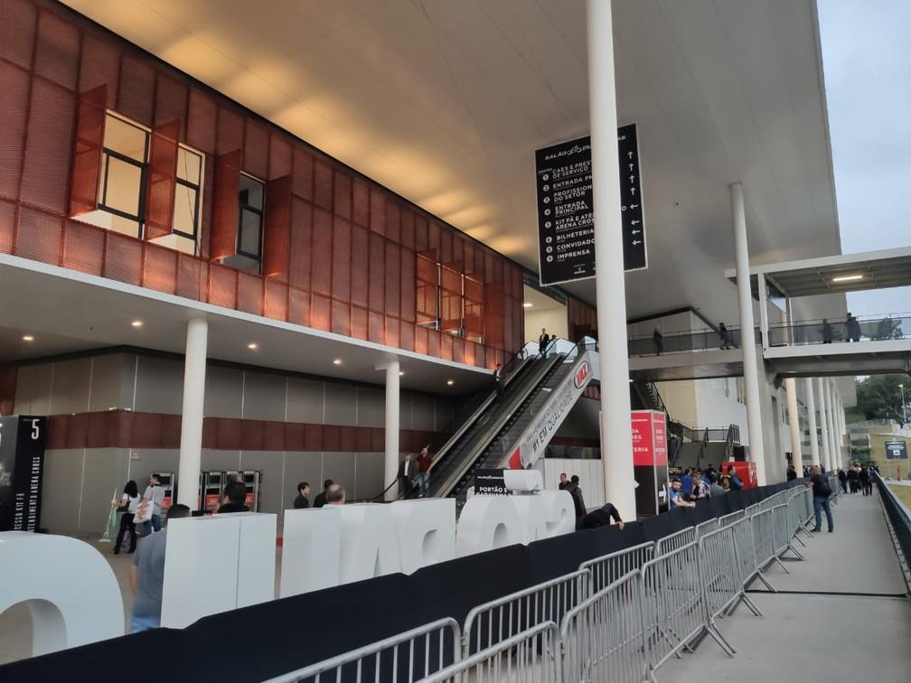 São Paulo Expo é a casa do Salão Duas Rodas, às margens da Rodovia dos Imigrantes — Foto: André Paixão/G1